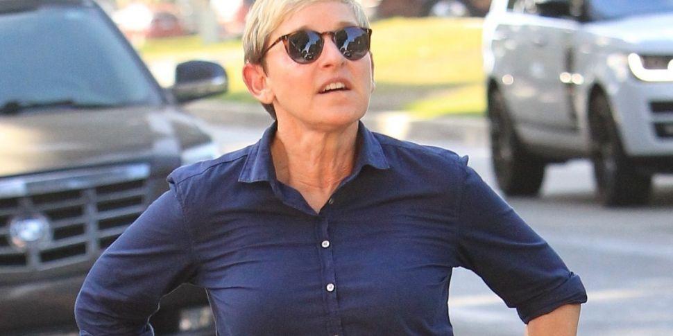 Ellen DeGeneres Paid tribute t...