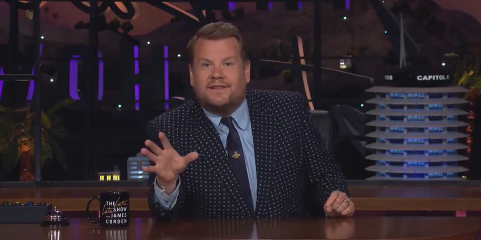 WATCH: James Corden Launches R...