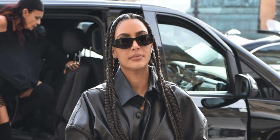 LOOK: Kim Kardashian Dyes Her...