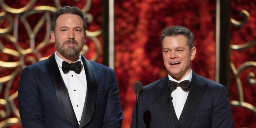 Matt Damon Comments On Pal Ben...