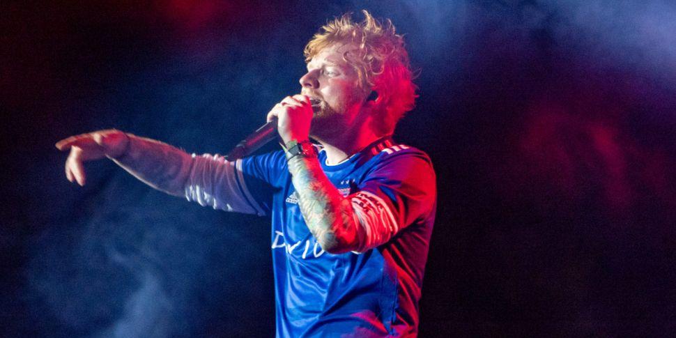 WATCH: Ed Sheeran & Courteney...