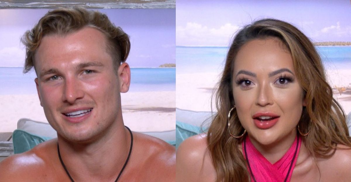 Love Island's Sharon & Chuggs Reportedly Noticed Kissing On Night time Out   SPIN1038