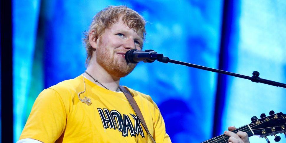 Ed Sheeran Announces Irish Dat...