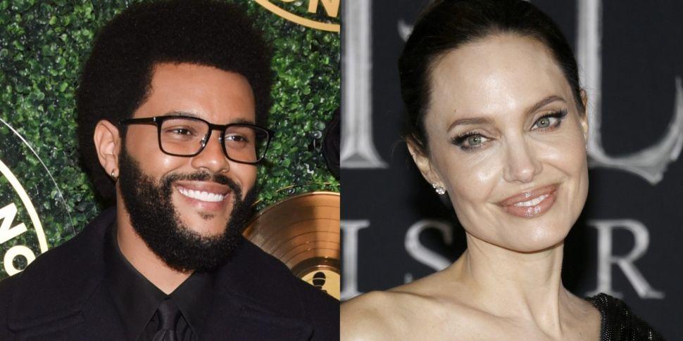 Angelina Jolie & The Weeknd Le...