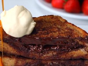 RECIPE: Baileys French Toast With Caramel Sauce