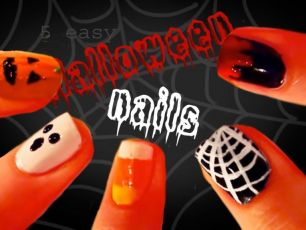 5 Halloween Nail Art Ideas