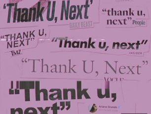 Ariana Grande Drops New Track 'Thank U, Next'