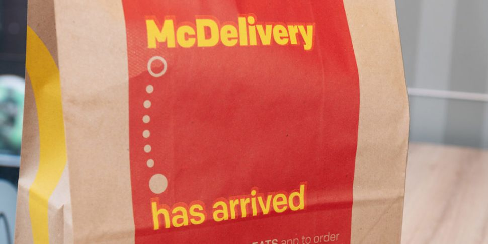 McDonald's Delivery Service Launches Across Ireland Today