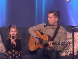 WATCH: Father & Daughter Duo Perform 'Meant To Be' On Ellen