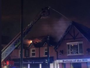 Fire In Finglas Pub Overnight