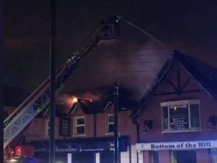 Fire In Finglas Pub Overnight