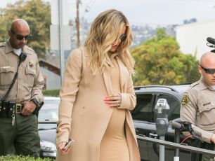 Khloe Gave Birth & The Kardashians Confronted Tristan On Last Night's KUWTK
