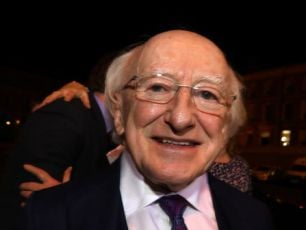 President Michael D. Higgins Inaugurated For A Second Term This Evening