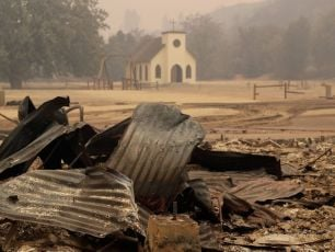 Westworld Set Burns Down As Wildfires Ravage California