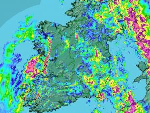 Storm Deirdre Sweeping Across The Country Until Midnight