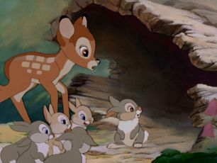Deer Poacher Forced To Watch Bambi In Prison