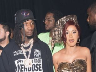 Cardi B Has Slammed Rumours That She & Offset Split For Publicity