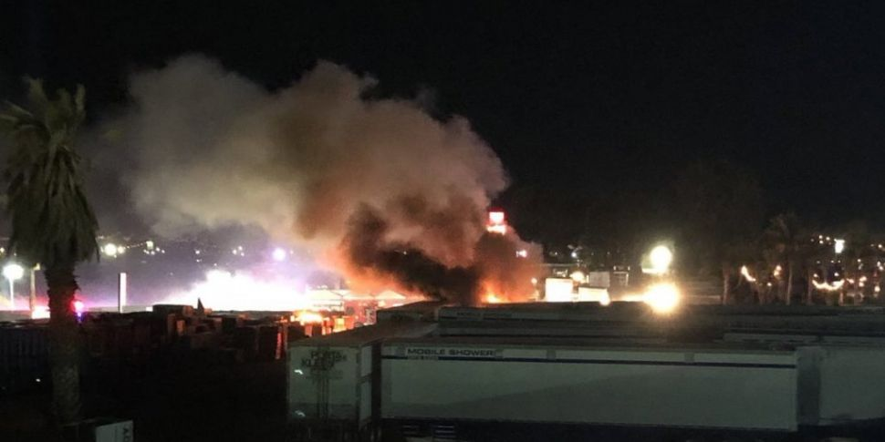 Fire Breaks Out At Coachella M...