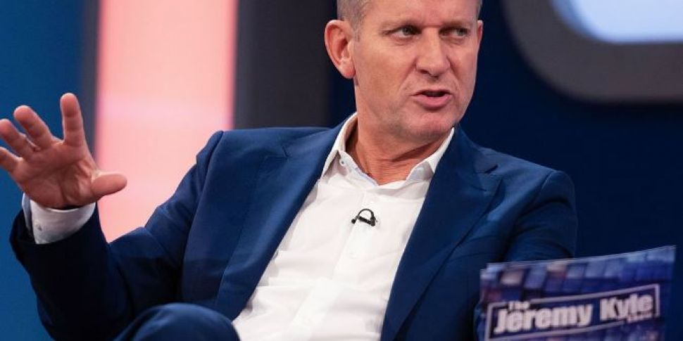 The Jeremy Kyle Show Has Been...