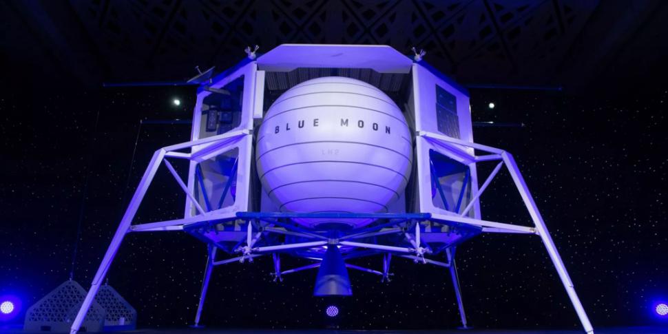 Amazon Owner Reveals Spaceship...