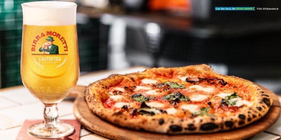 Birra Moretti Beer Pop Up Pizz...