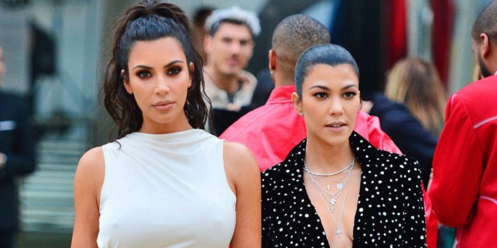 WATCH: Kim & Kourtney Kardashi...
