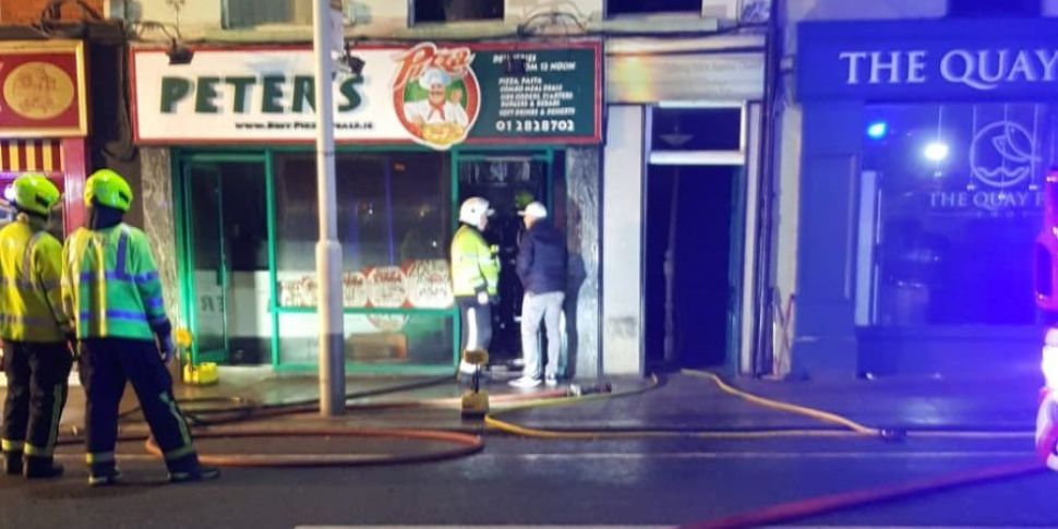 Second Fire On Bray's Main Str...
