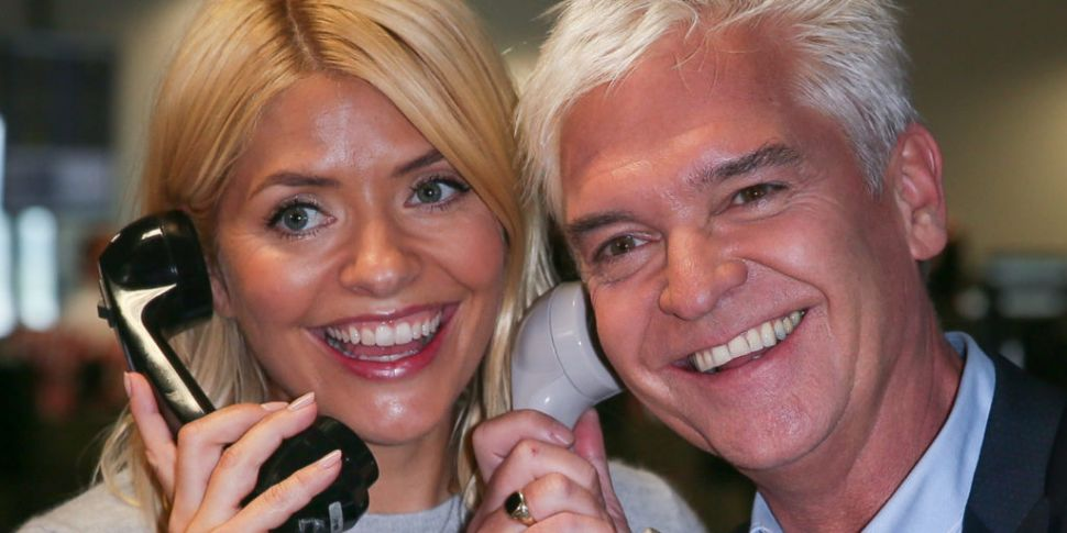 Phillip Schofield In Stitches...