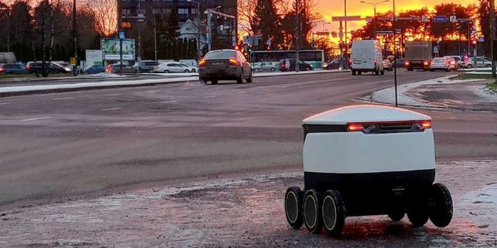 Food Delivery Robots Launched...