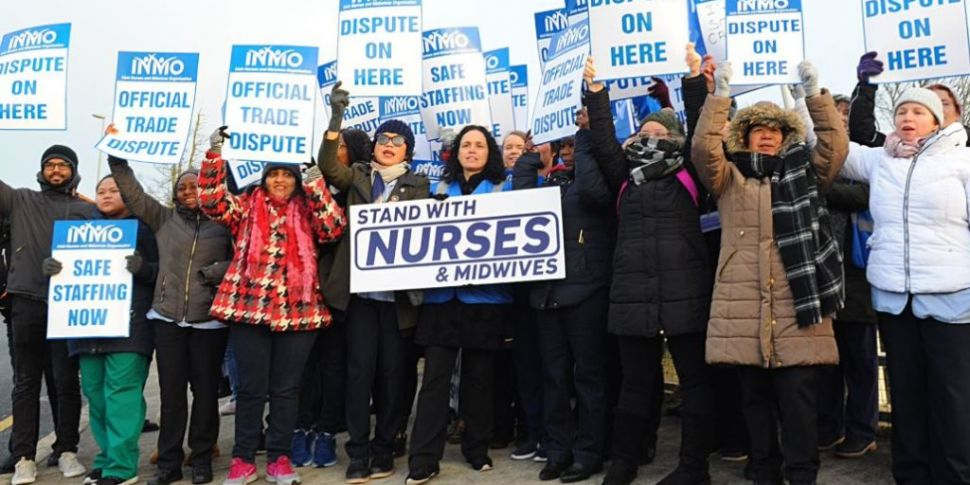 Nurses Hold Their Second Day O...