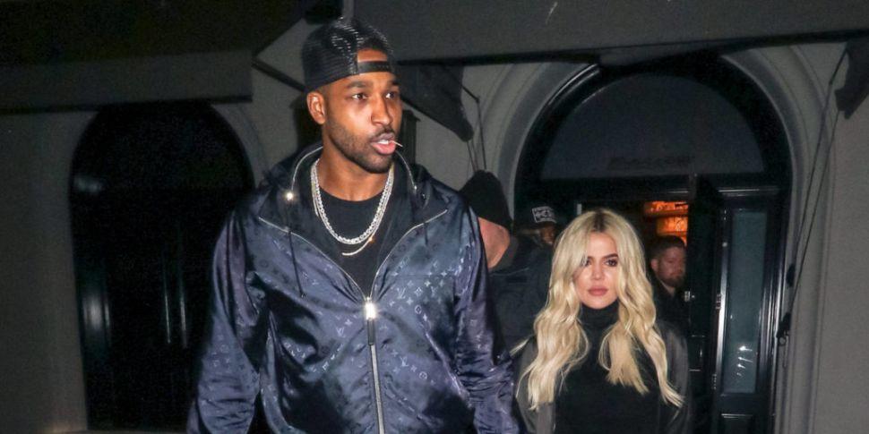 Khloé Kardashian And Tristan A...
