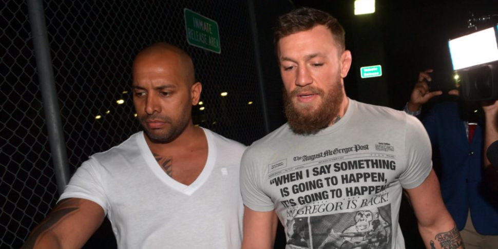 Conor McGregor Charged With St...