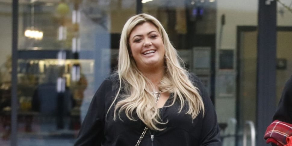 Gemma Collins Nearly Falls Off...