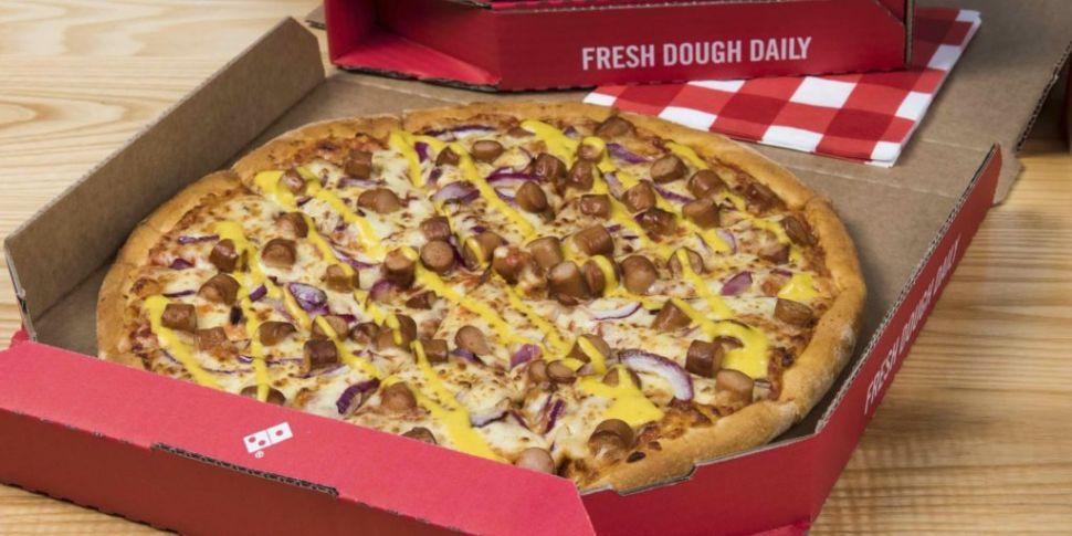 Domino's Add New York Hot Dog...