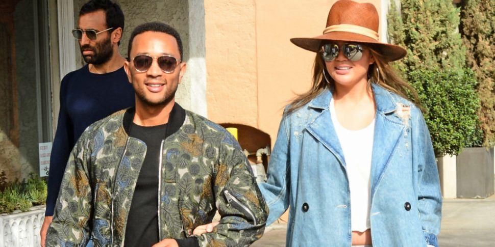 WATCH: John Legend & Chrissy T...