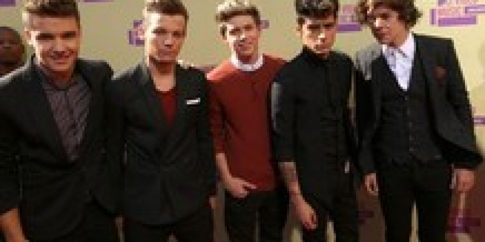 One Direction shoot music vide...