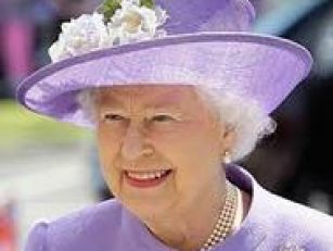 Queen hopes royal baby is born...