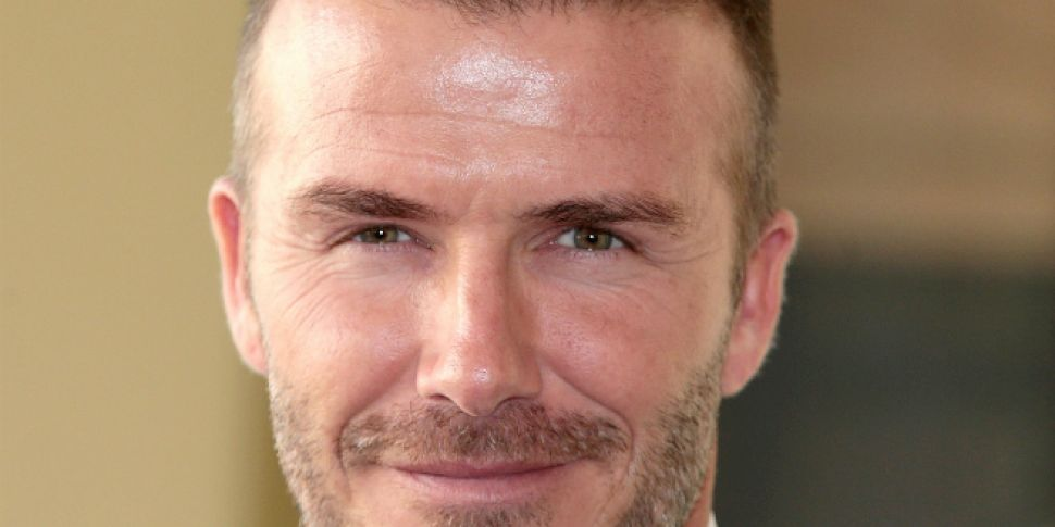 David Beckham Reduced To Tears After Birthday Surprise