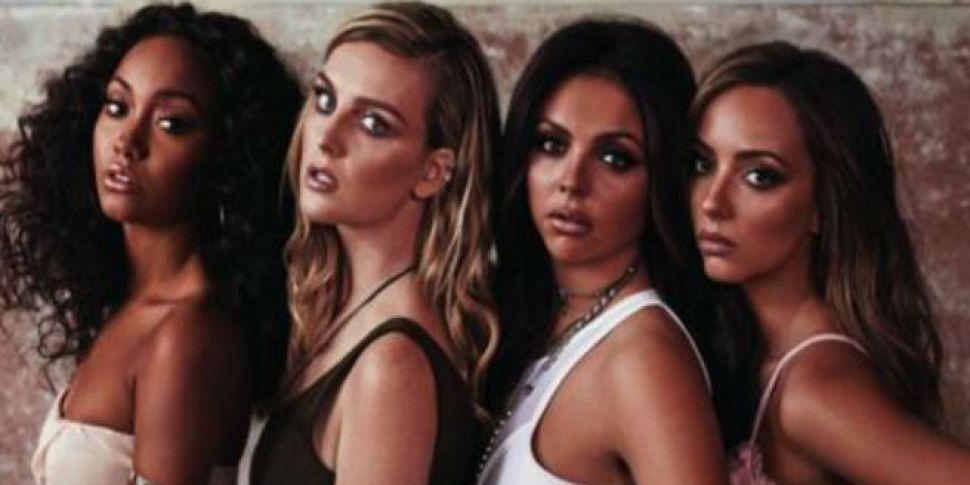 Behind the scenes of the video for Little Mix - Secret Love