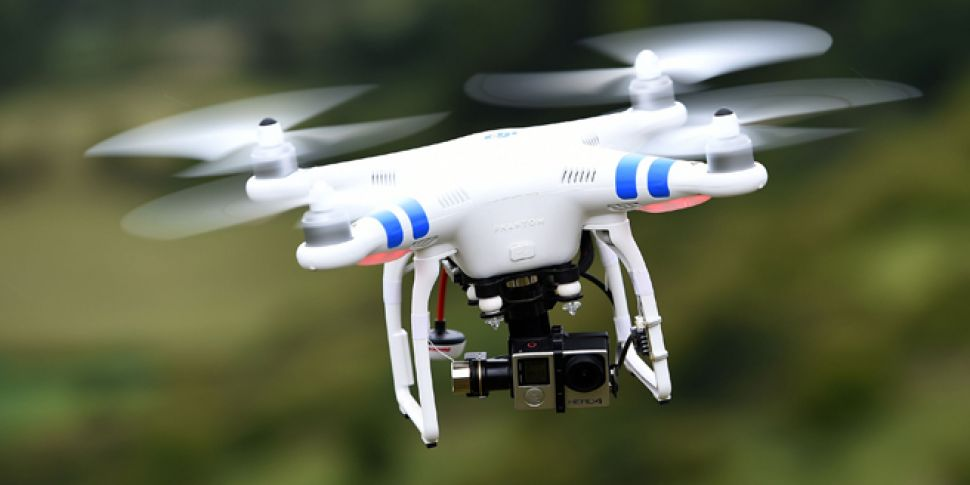 Drones Affecting Firefighters Trying To Tackle Blaze In Bray