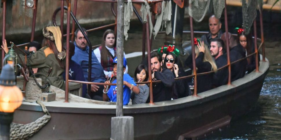 Kourtney And Scott's Family Day Out In Disneyland