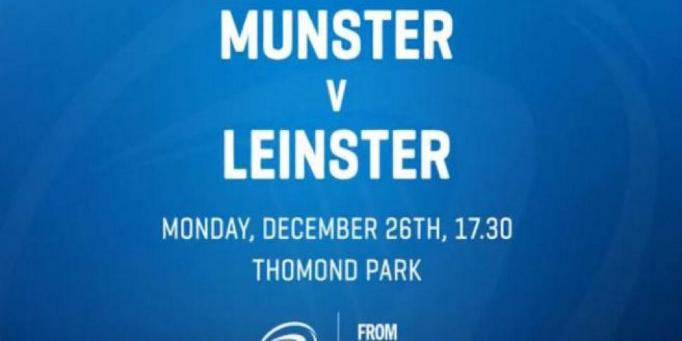 Leinster Name Team For St Stephen's Day Clash With Munster