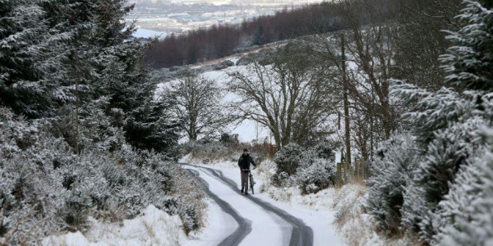 Met Eireann Issue Snow Warning...