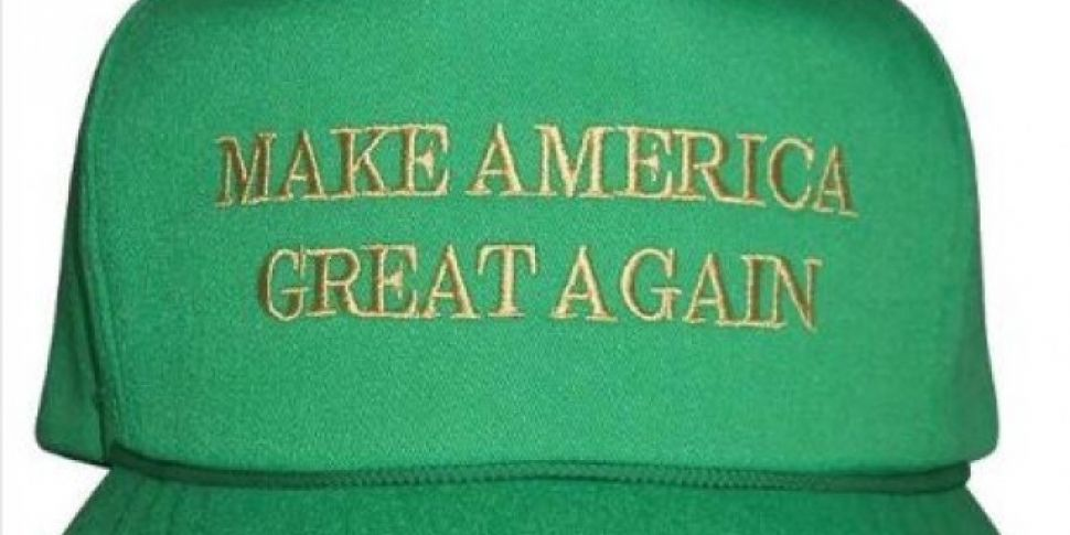Trumps Paddy's Day Hat has People Annoyed