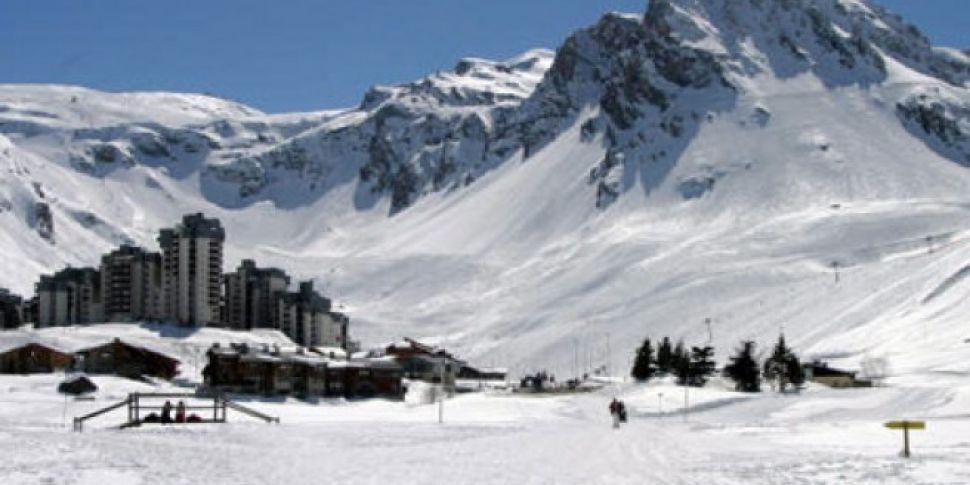 Avalanche Hits French Ski Reso...