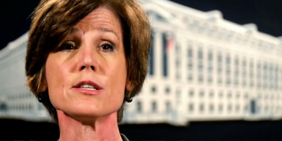 You're Fired! Trump Sacks Acting Attorney General