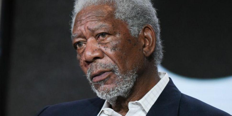 Morgan Freeman Calls Out An Interrupting Audience Member At SAG Awards