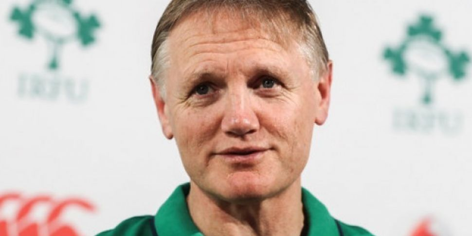 Joe Schmidt Names Ireland Team...