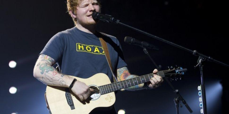 Ed Sheeran's Back In Studio