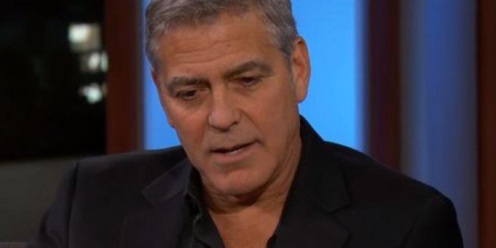 George Clooney Describes Directing Matt Damon